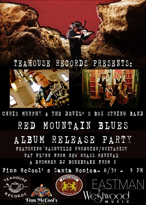 Red Mountain Blues Release Poster