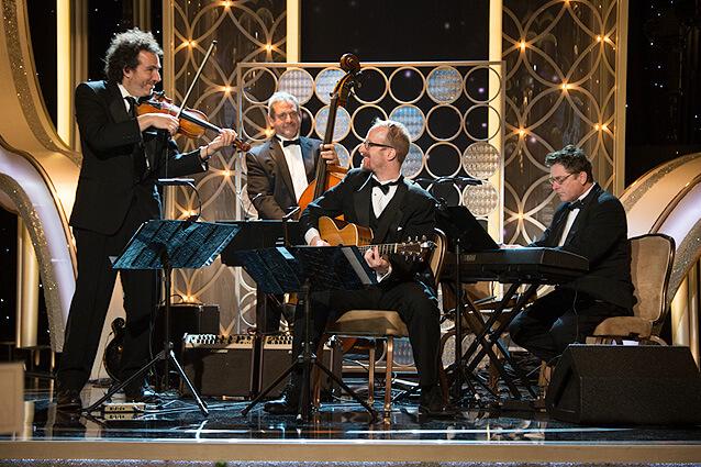 Chris Murphy at Golden Globes