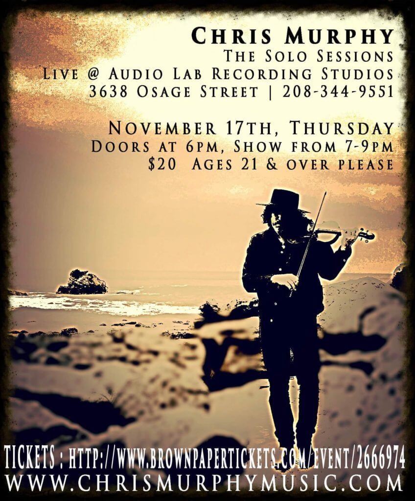 Chris Murphy Solo Sessions